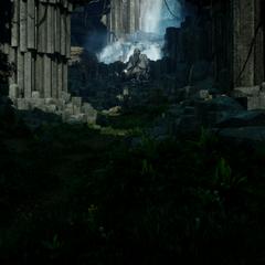 Waterfall Cave Interior