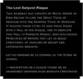 The Lost Outpost Plaque Still Waters.png