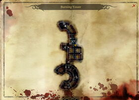 Map-Burning Tower