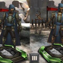 Tier progression of Aurelian Titus in <i>Heroes of Dragon Age</i>