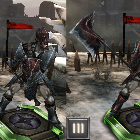 Tier progression of the Ancient darkspawn in <i><a href=