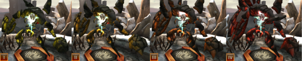 Ancient rock wraith tier evolution