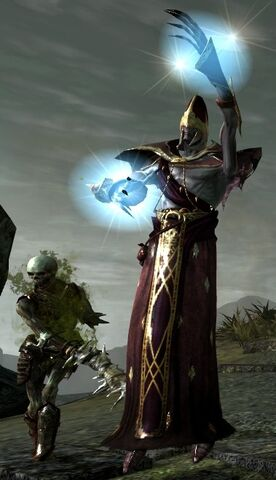 File:DA2 Arcane Horror enemy demons spellcaster glowing hands and Corpse.jpg