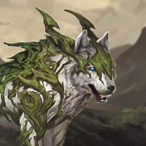 Artwork of Witherfang in <i>Heroes of Dragon Age</i>