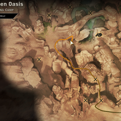 Location of the Grey Warden Banner Crown