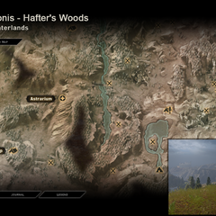 Draconis - Map Location
