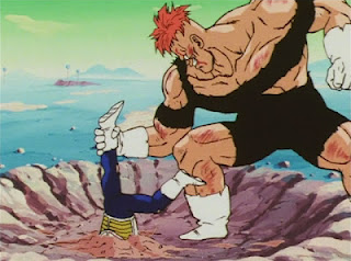 File:Vegeta in the ground with Recoome.png