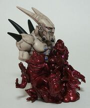 Bandai 8cm Omega plus dragons Imagination c