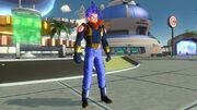 Dragon Ball Xenoverse GT Pack 2 Male Future Warrior Super 17 Outfit (DLC)