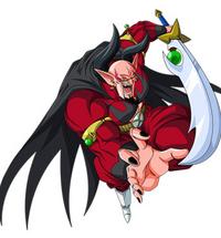 Demon God Dabura art