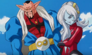 Xeno Dabura and Towa