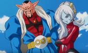 Xeno Dabura and Towa