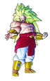 Broly SSJ3 art in RB2