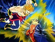 Goku and Broly