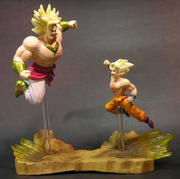 Broly v Goku set