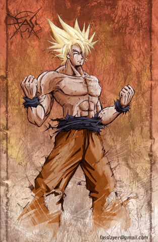 File:Goku super saiyajin color by FASSLAYER.jpg