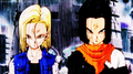 Future Android 17 and 18 while vs Future Gohan