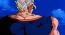 Super buu talking while controling vegito's back muscle 7