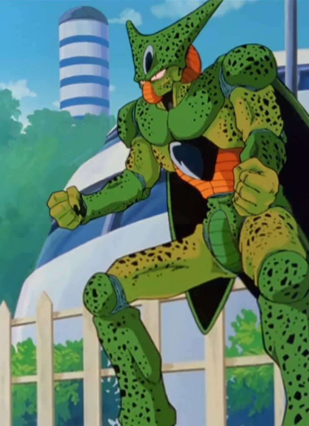 Image - DBZKai Ep 69 - Cell power up.PNG | Dragon Ball ...
