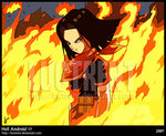 File:Android 17 on fire.jpg