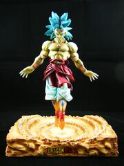 Broly resin modelkit a