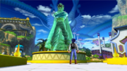 DBXV2 Future Warrior Future Warrior Monument