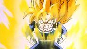 Gohan as a Super Saiyan