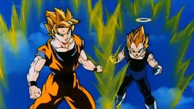 File:Goku and ss vegeta.jpg