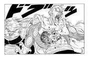 Dodoria brutally kills a namekian