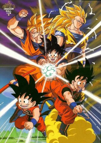 File:GokuOverTheYears.jpg