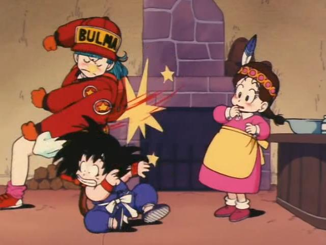 File:Bulma hits goku episode 4.jpg