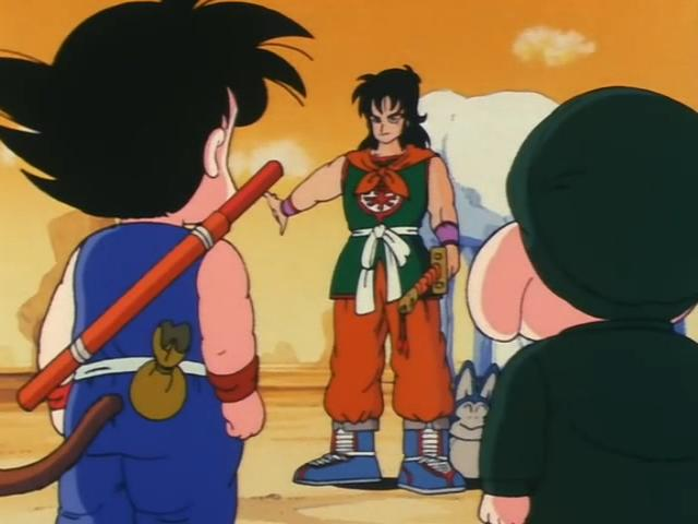 File:Yamcha offering to let them live if they give him the money and dinocaps.jpg