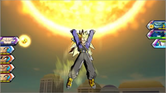 Super Saiyan 3 Future Trunks Heroes gameplay