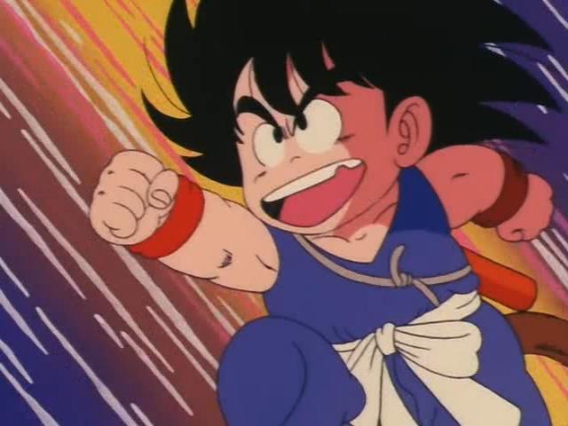 File:Goku attacking Yamcha.jpg