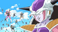 Frieza & his 1000 soldiers army, Resurrection 'F' caption