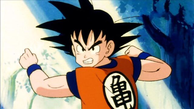 File:Goku about to break wood.jpg