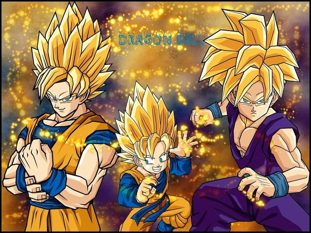 File:Goku,Gohan,and Goten Wallpaper wekwc.jpg