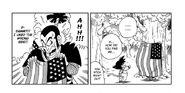 Goku finds Ninja Murasaki much to his annoyance