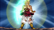Broly powerup 3