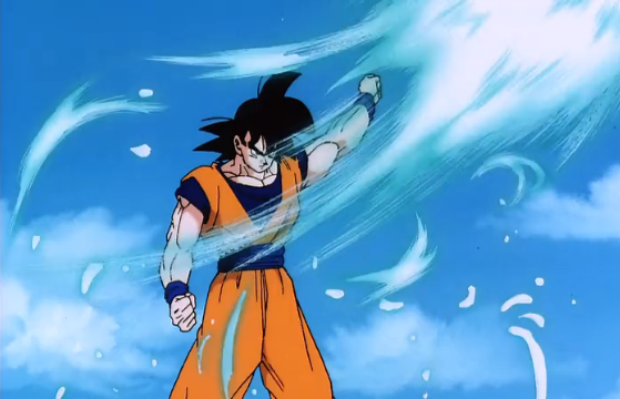 File:Super Android 13! - Goku deflects.png