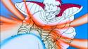 Daiz overtaken by Goku's blast