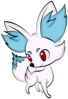 File:Shiny fennekin by logicallylucy-d5quako.png