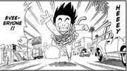 Goku returning