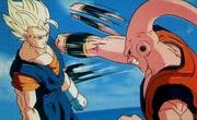 Super Vegito dodging Gohan absorbed Super Buu.png