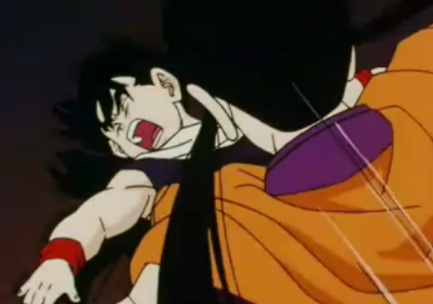 File:Chichi dubbles knees gohan in the stomach.png