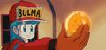 Bulma having the dragonball