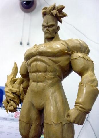 File:Pre-sculpt recoome modelkit d.jpg