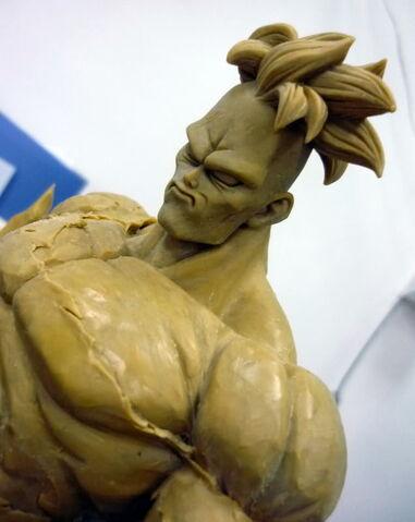 File:Pre-sculpt recoome modelkit b.jpg