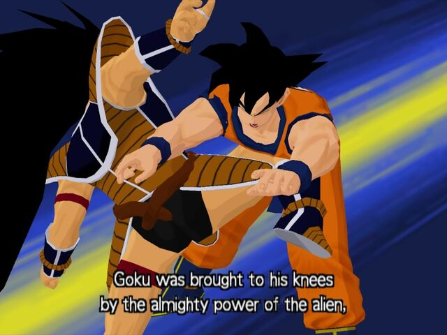 File:Goku Raditz Budokai.jpg