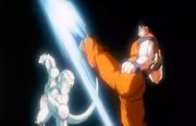 The Ultimate Battle - Frieza Goku faceoff
